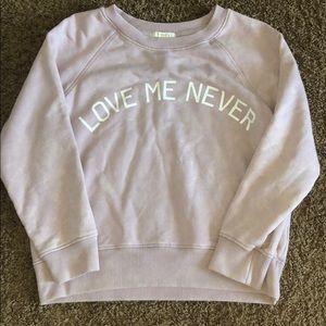 Gently Used Cropped Sweatshirt